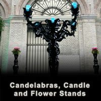 Candelabra Candle Holders and Flower Stands