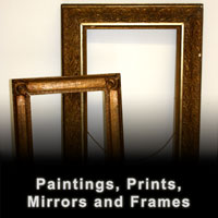 Paintings Prints Frames and Mirrors