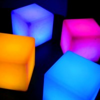 LED Light Up Cubes