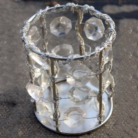 Crystal Beaded Tealight Holders