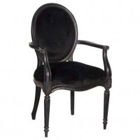 Dining Chair Black Velvet