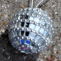 Small Mirrorball Baubles