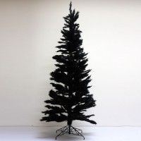 Slimline Black Christmas Tree
