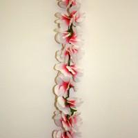 Pink & White Garland