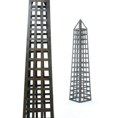 Metal Obelisks