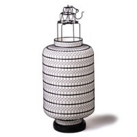 Large Fabric Lanterns Round