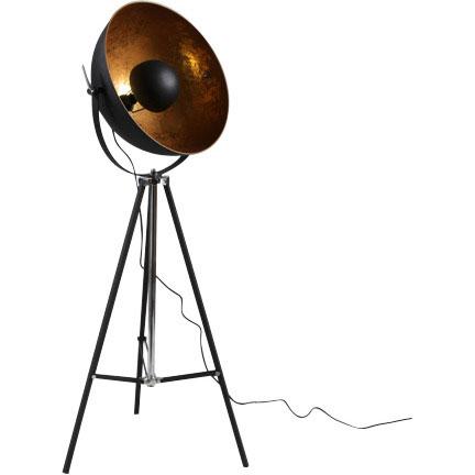 Gold Tripod Floor Lamp