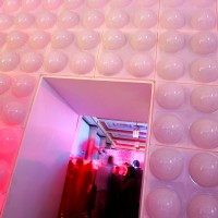 White or Red Dome Wall Panels