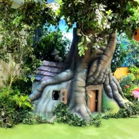 Winnie The Pooh's Tree House