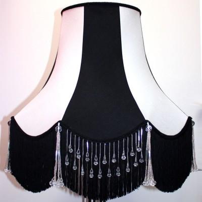 Black and White Chatsworth Lampshade