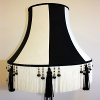 Black and White Cambridge Lampshade