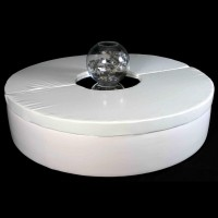 Round White PVC Seating