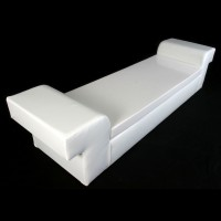 S-Bend White PVC Seating
