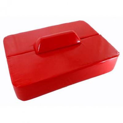 Rectangular Red Seating