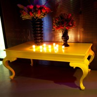 Large Yellow Table