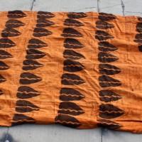 African Fabrics - Rust