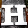 Giant Letter H