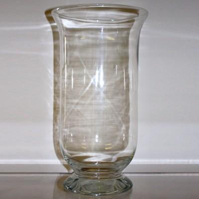 Short Glass Vase / Storm Lantern