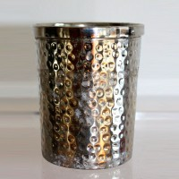 Beaten Panel Silver Cup