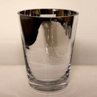 Short Mirrored Vase