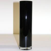 Tall Black Vase