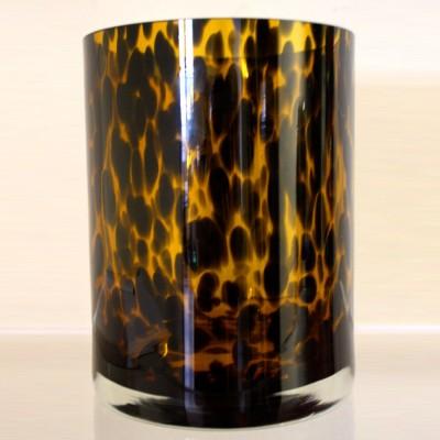 Tortoiseshell Glass Vase