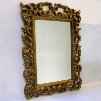 Gold Ornate Frame - Large